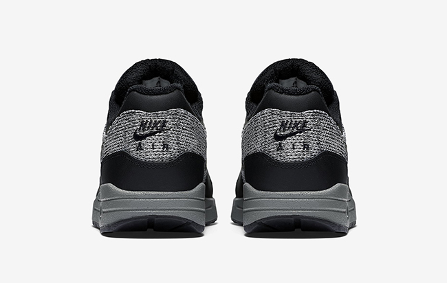 Nike Air Max 1 Essential Winter Black Grey Red