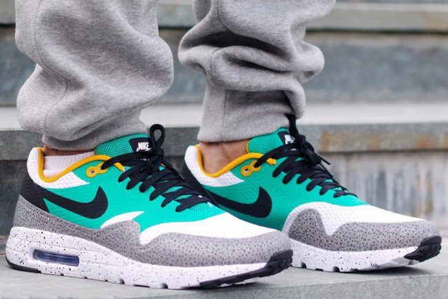 Comité Especialista anunciar  Nike Air Max 1 Ultra Safari Oregon Ducks | SneakerFiles