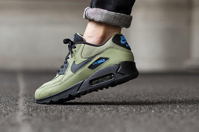 45bd013d2dec0d Nike Air Max 90 Essential Alligator Green