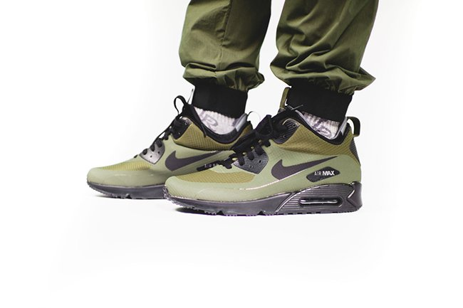 low priced 17c2e c0c2b 806808-300 · lovely Nike Air Max 90 Mid Winter Dark Loden Now Available