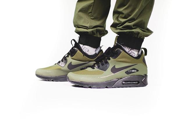 buy popular 4f581 741a4 Nike Air Max 90 Mid Winter Dark Loden