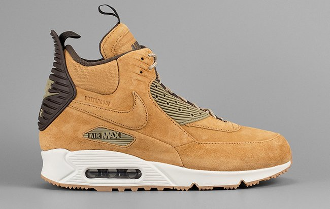 b761bfa615 Nike Air Max 90 Sneakerboot Wheat | SneakerFiles