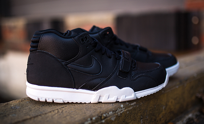good out x 100% quality entire collection Nike Air Trainer 1 Mid Black White | SneakerFiles