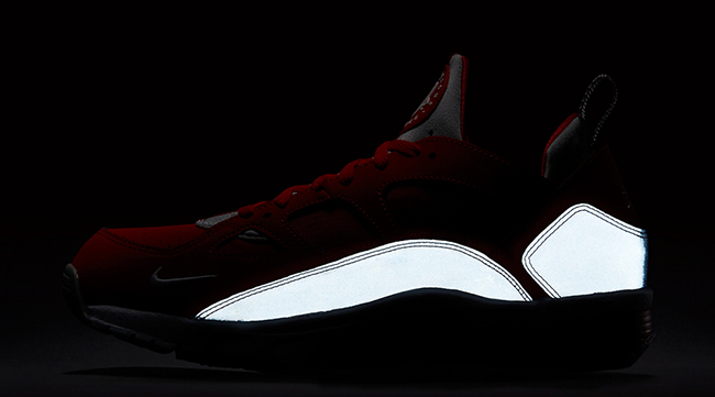 Nike Air Trainer Huarache Low Red Reflective Silver