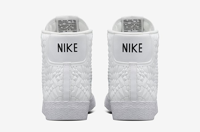 Nike Blazer Mid Diamondback White
