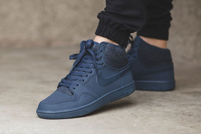 Nike Court Force High Squadron Blue
