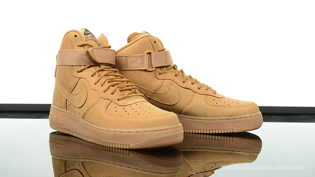 uk availability 4918c 1bc80 Nike Flax Air Force 1 High 2015. Nike Air Max 95. Colorway  Bronze Baroque  Brown-Bamboo
