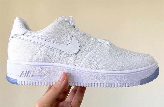 sale usa online new collection cheap price Nike Flyknit Air Force 1 White | SneakerFiles