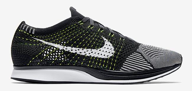 Nike Flyknit Coureur Blanc Noir Volt Acheter Or 529oq