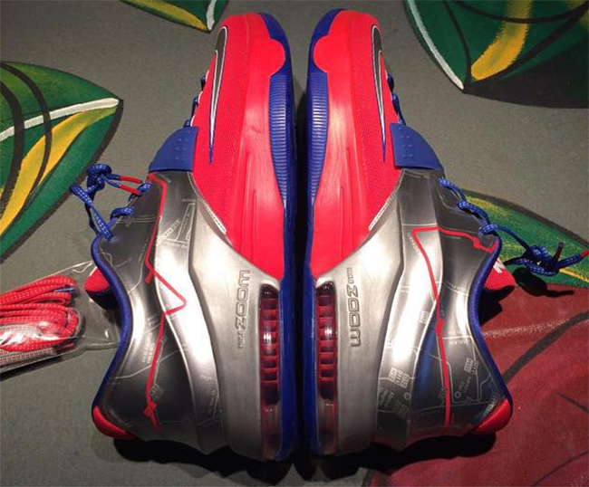Nike KD 7 P12 Washington DC Sample