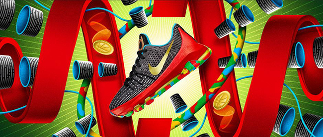 Nike KD 8 GS Money Ball
