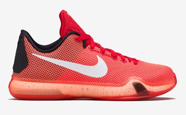 Nike Kobe 10 GS Bright Crimson