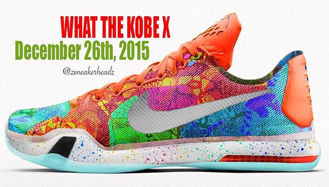 Nike Kobe 10 What The Release Date
