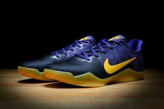 Nike Kobe 11 Blue Yellow