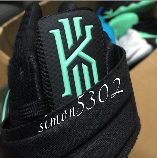 Nike Kyrie 2 Black Green Glow Release Date