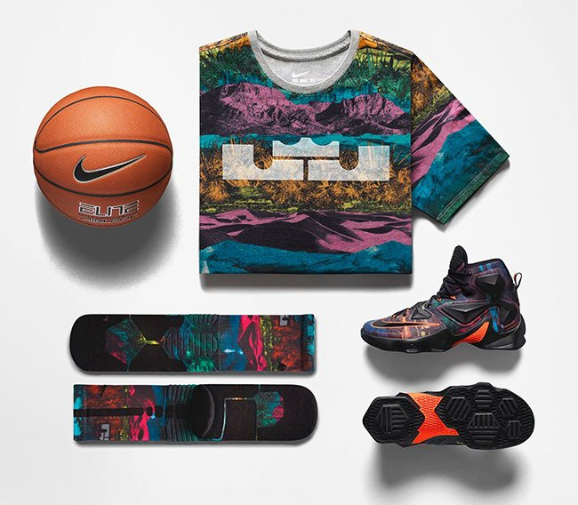 online store 016be 421ec Nike LeBron 13 The Akronite Philosophy