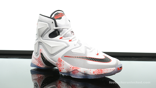 c31f89d8d326 Nike LeBron 13 Friday the 13th Halloween
