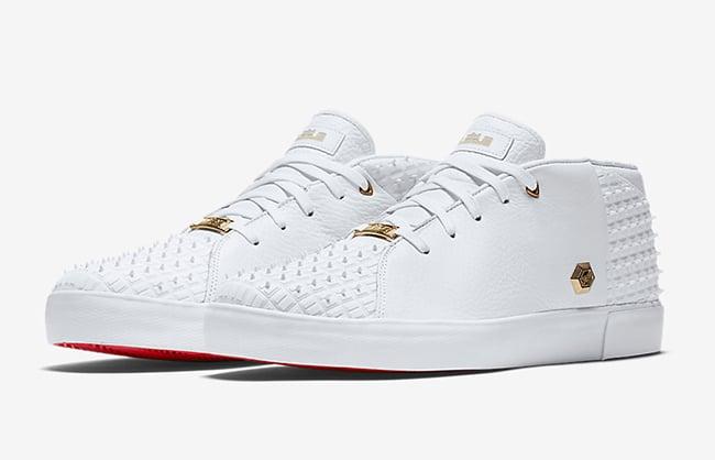 Nike LeBron 13 NSW Lifestyle White Gold