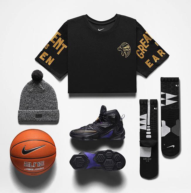 Nike LeBron 13 Pot of Gold