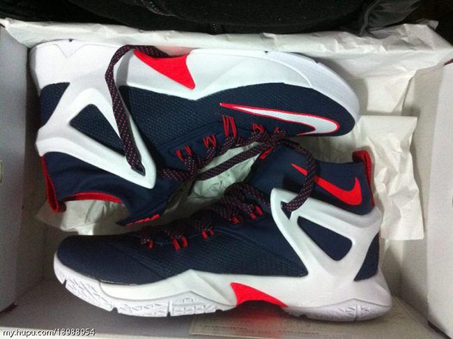 45c1dba58ffb Nike LeBron Ambassador 8 USA