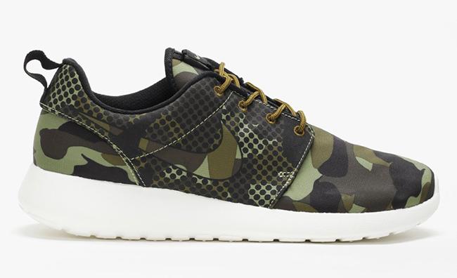 Nike Roshe One Print Alligator Green Camo