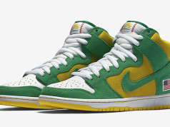 Nike SB Dunk High Oakland Athletics