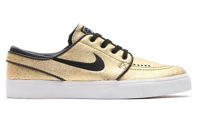 Nike SB Gold Sneakers