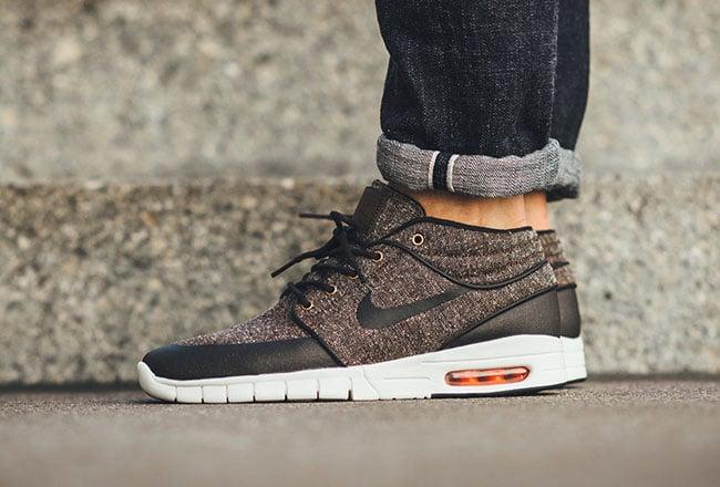 Nike SB Stefan Janoski Max Mid Tweed | SneakerFiles