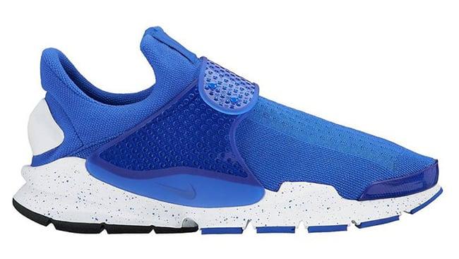 Nike elite socks white and blue