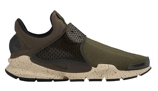Nike Sock Dart Olive 2016
