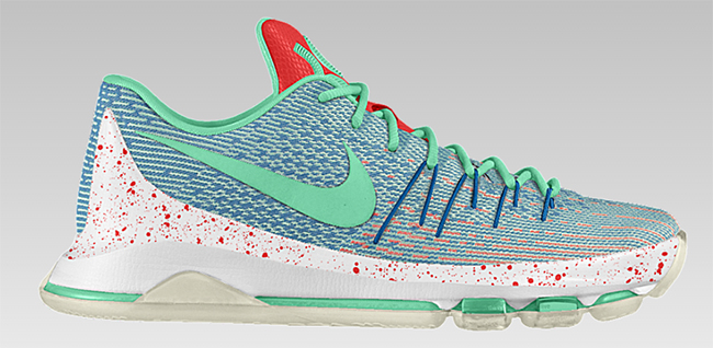 NikeID KD 8 Two Tone