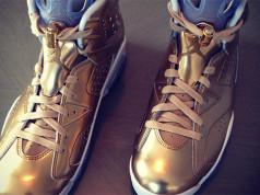 Oscars Air Jordan 6 Gold Spike Lee