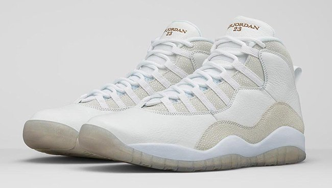 Air Jordan 10 Ovo Réapprovisionner Blanc