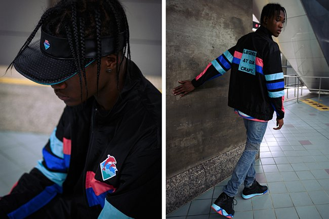 Pink Dolphin Fila Vintage Cage Round Two