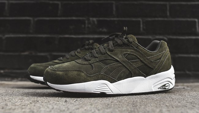 Puma R698 Forest Night Green