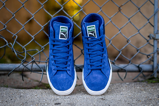 Puma Suede Mid Classic Limonges Sneakerfiles