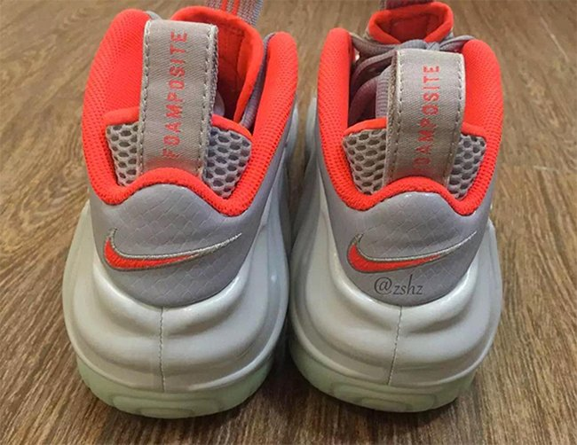 Pure Platinum Nike Foamposite Pro Yeezy
