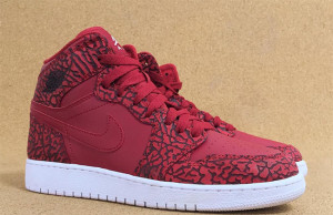 Red Elephant Air Jordan 1