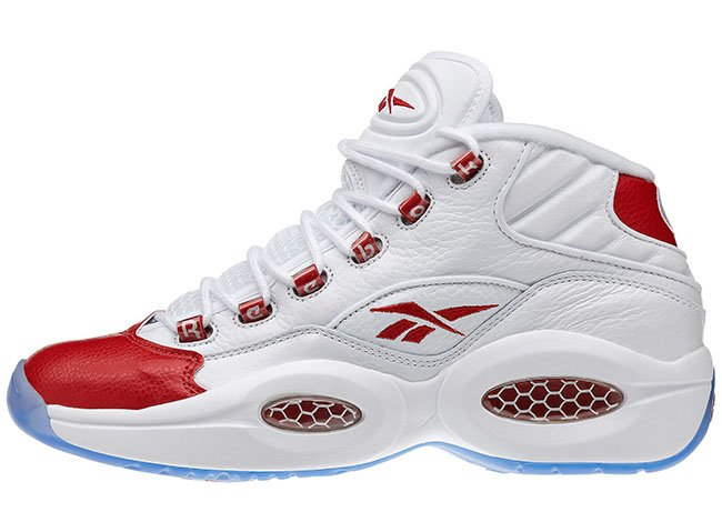 8e6f71b6796 delicate Video Reebok Question OG White Red 2016 - arcsouthington.org