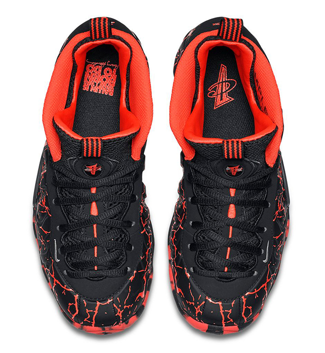 Release Nike Little Posite One Lava
