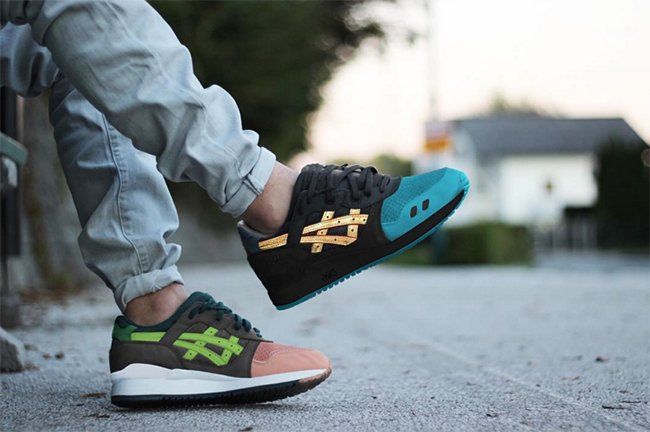 Ronnie Fieg Asics Gel Lyte III What the Fieg