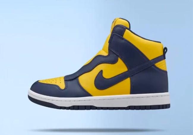Sacai NikeLab Dunk Lux Collection