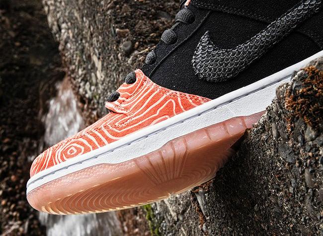 Salmon Premier Nike SB Dunk Low Fish Ladder