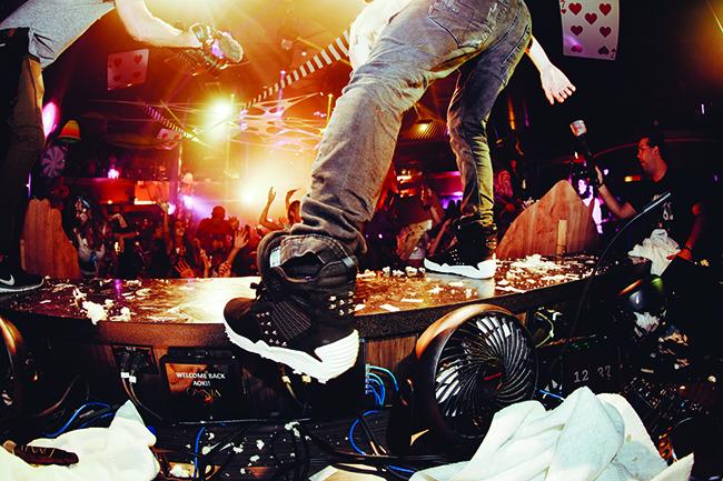 Steve Aoki Supra Skytop IV
