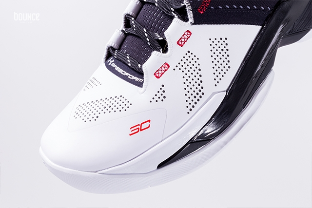 Under Armour Curry 2 Suit Tie Details