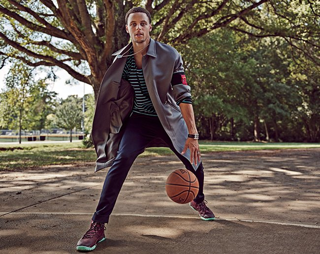 Under Armour Curry 2 Maroon GQ