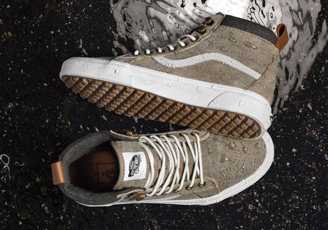 vans waterproof sneakers