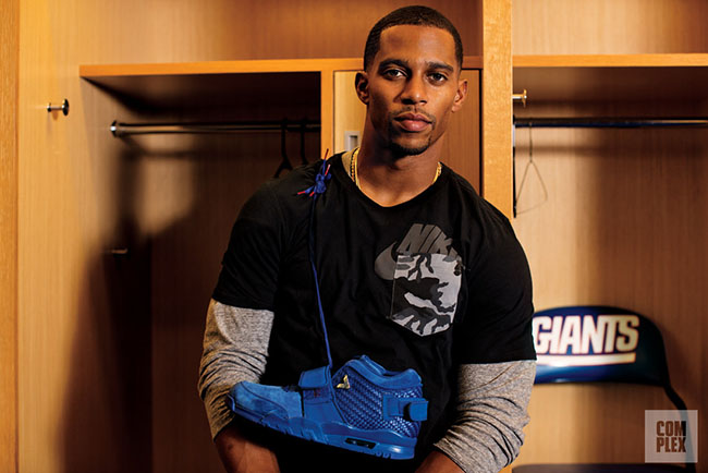 Victor Cruz Nike Air Cruz Red Release