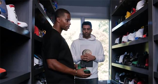 Victor Cruz Sneaker Collection Closet