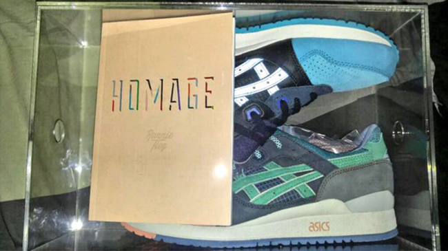 What The Fieg Asics Gel Lyte III Homage